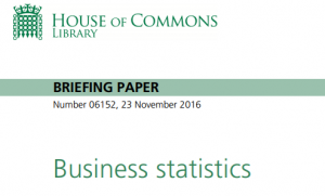 House of Commons Briefing paper 2016
