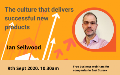 Getting to the culture that delivers successful new products (Sept 2020)