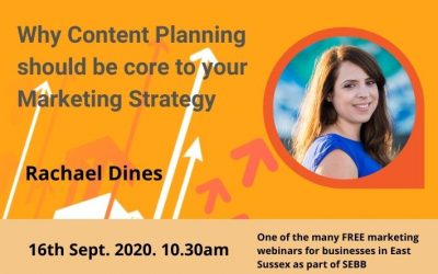 Why Content Planning is a key part of your marketing strategy (Sept 2020)